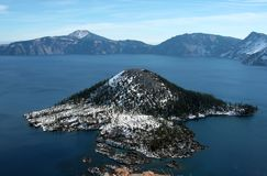 Kratermeer - Oregon - de Verenigde Staten van Amerika Royalty-vrije Stock Foto