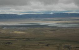 kraterngorogoro Arkivfoton