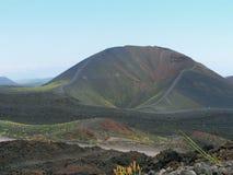 Kraters van Etna stock foto's