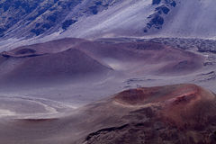 krateru haleakala Obrazy Stock