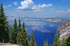 krateru jeziora Fotografia Stock