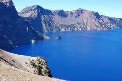 krateru jeziora Zdjęcia Royalty Free