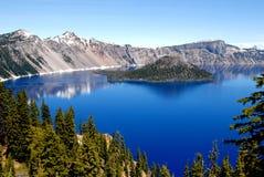 krateru jeziora Zdjęcie Royalty Free