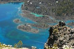 krateru jeziora Oregon Fotografia Royalty Free