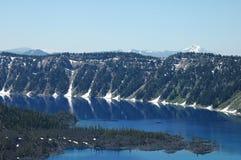 krateru jeziora Oregon Zdjęcia Stock