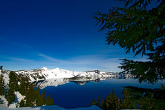 krateru jeziora Oregon Fotografia Stock
