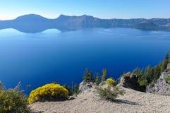 Krateru Jeziorny park narodowy, Oregon, usa Zdjęcia Stock