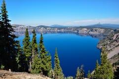 Krateru Jeziorny park narodowy, Oregon, usa Zdjęcia Royalty Free