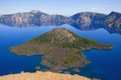 krateru jezioro Zdjęcie Stock