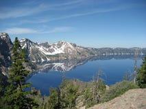 krateru jezioro Fotografia Stock