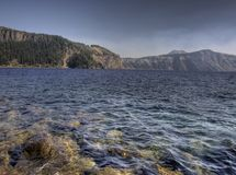 krateru jezioro Obraz Royalty Free