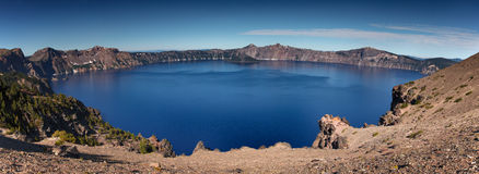 krateru jezioro Obrazy Stock