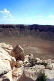 krateru meteor Zdjęcia Royalty Free