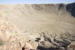 krateru meteor Fotografia Royalty Free