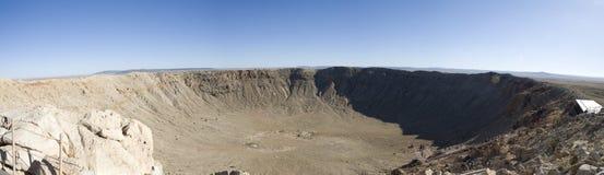krateru meteor Fotografia Stock
