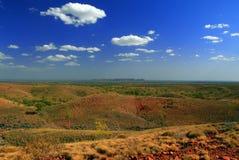 krateru meteoru odludzie Fotografia Royalty Free