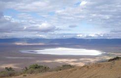 krateru ngorongoro Obrazy Royalty Free