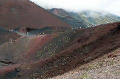 krateru silvestri Zdjęcia Royalty Free