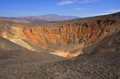 krateru ubehebe Zdjęcia Stock