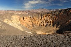 krateru ubehebe Obrazy Stock