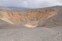 krateru ubehebe Zdjęcie Royalty Free