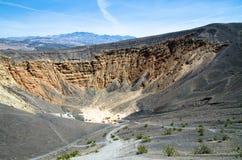 krateru ubehebe Zdjęcie Stock