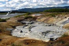 krateruzonvulkan royaltyfri fotografi