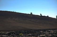 Kratery księżyc, Idaho, usa fotografia stock