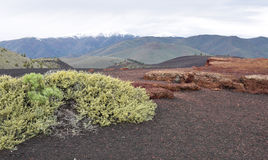 Kratery księżyc Krajowy zabytek prezerwa i, Arco, Idaho Obrazy Royalty Free