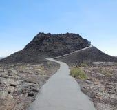 Kratery księżyc park narodowy zdjęcie stock