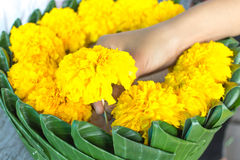 Krathong Royalty Free Stock Photo