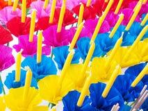 Krathong or Floating Basket, Loy krathong festival ,Incense , ca Stock Photos