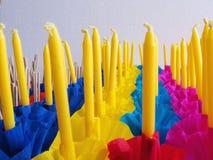 Krathong or Floating Basket, Loy krathong festival ,Incense , ca Royalty Free Stock Image