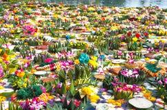 krathong loy Στοκ φωτογραφίες με δικαίωμα ελεύθερης χρήσης