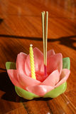 Krathong Thailand Stock Photo
