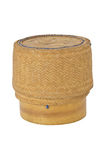 KRATIB bamboo rice box Thai style Royalty Free Stock Image