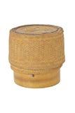 KRATIB-de doos Thaise stijl van de bamboerijst Royalty-vrije Stock Afbeelding