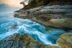 Krating-Kap befindet sich in Phuket, Thailand lizenzfreie stockfotos