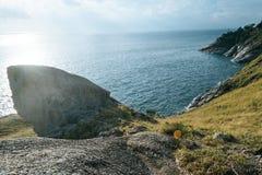 Krating synvinkel för panoramaleam Arkivfoton