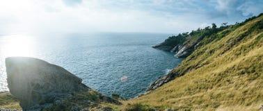 Krating synvinkel för panoramaleam Arkivbilder