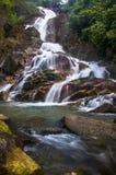 Krating waterfall. Waterfall shot from Kitchakuch Mountain royalty free stock image