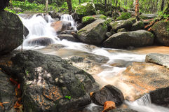 Krating Waterfall in thailand Stock Photos