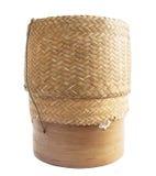 KRATIP, de Thaise container van de het bamboe kleverige rijst van Laos Royalty-vrije Stock Afbeelding