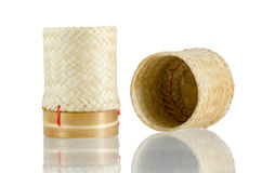 Kratip Khao, Thai bamboo sticky rice container Royalty Free Stock Photo