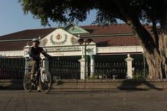 Kraton Kasultanan Yogyakarta Royaltyfri Bild