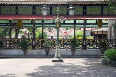 Kraton Palace of Yogyakarta, Indonesia. Yogyakarta, Indonesia - 28 January 2013: Kraton Palace of Yogyakarta, Indonesia Royalty Free Stock Images