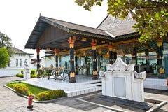 Kraton Sultan Palace een het leven Museum van Javanese cultuur. Indone royalty-vrije stock fotografie