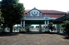 Kraton-Sultanspalast von Yogyakarta Stockbilder