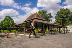 Kraton Yogyakarta royalty free stock photo