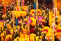 Kratong. Photo stock